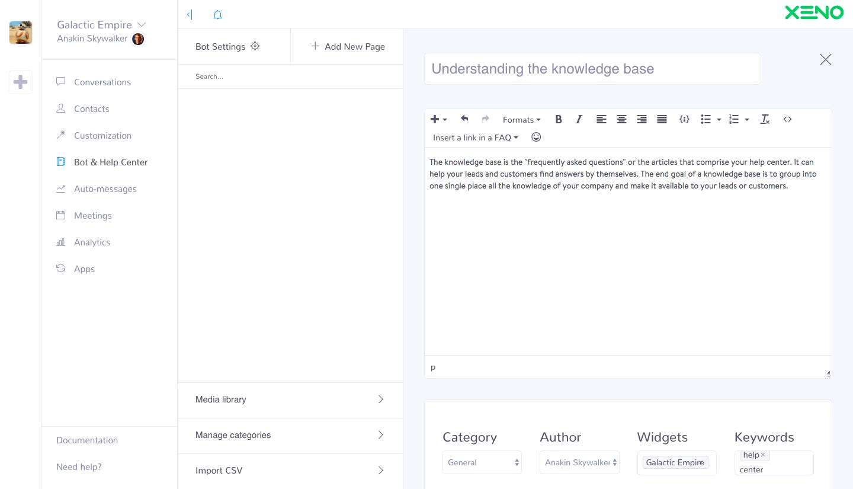 Screenshot Knowledge Base